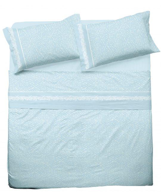 completo lenzuola beatrice azzurro