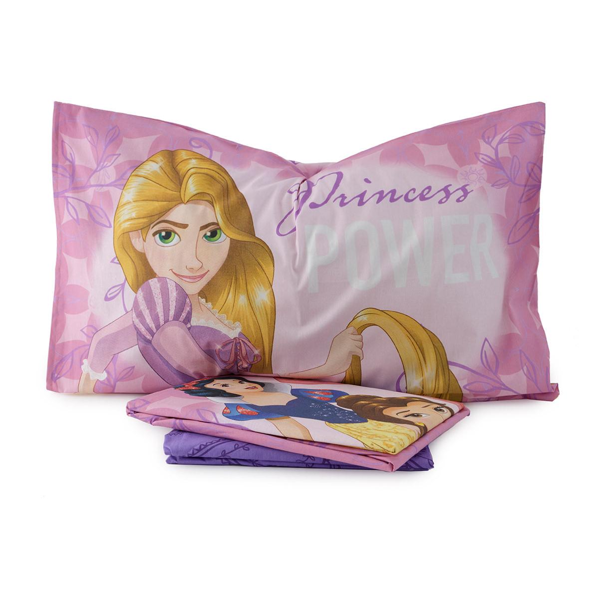 Completo lenzuola principesse originale disney letto singolo 1 piazza soho milano - Completo lenzuola letto singolo ...