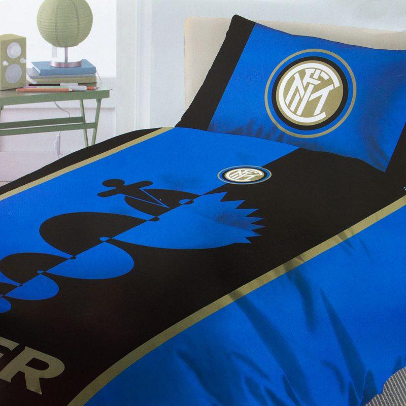 Completo letto Inter lenzuola ufficiale Singolo una piazza 2
