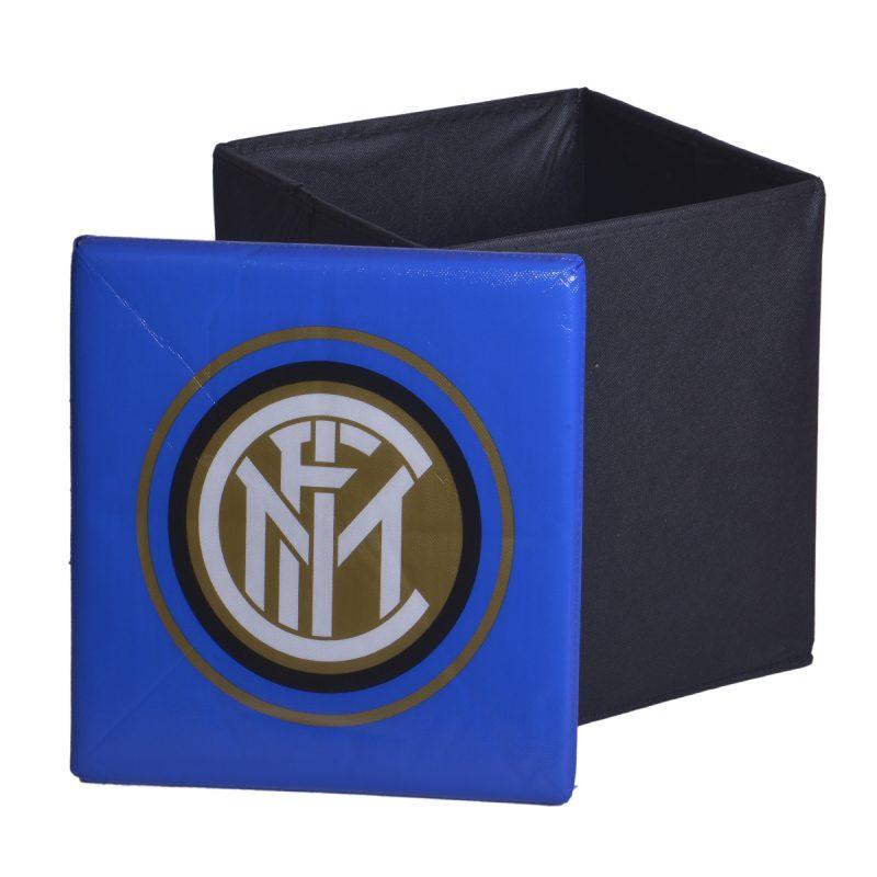 Pouf Contenitore Pieghevole Squadre di Calcio Inter 2