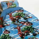 Trapunta_Piumone_Four_Avengers_Marvel_Singolo_Una_piazza