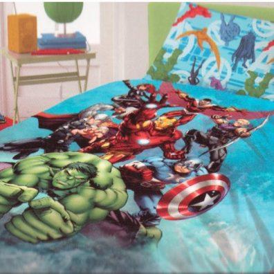 completo letto-avengers
