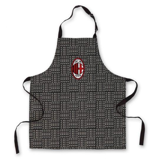 grembiule da cucina con pettorina AC Milan