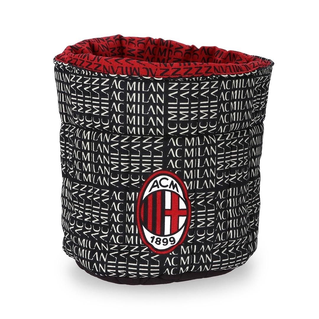 Sacco trapuntato portaoggetti AC Milan Ufficiale