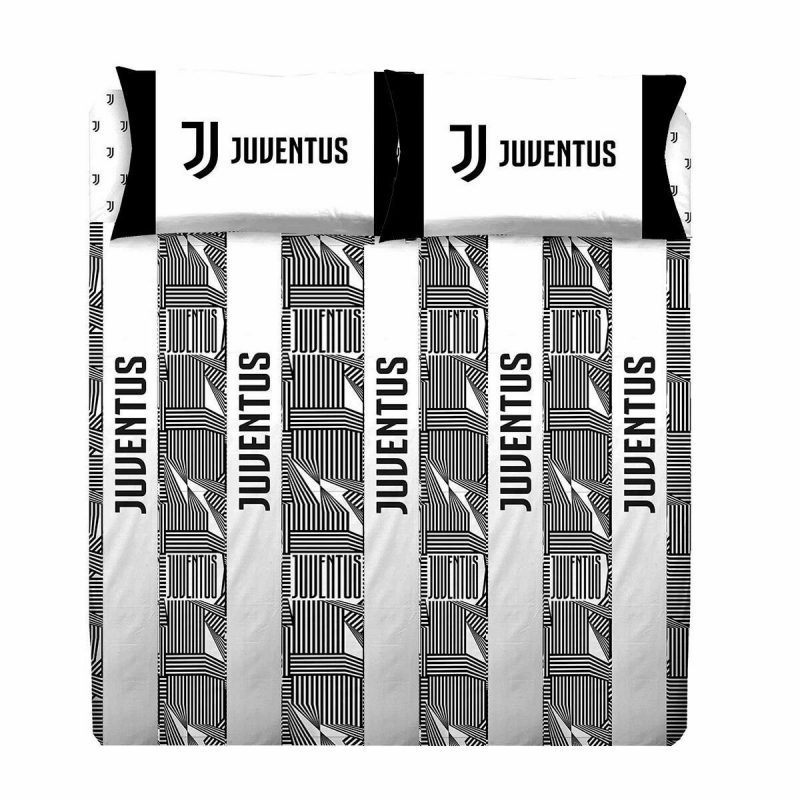 Completo lenzuola FC Juventus Juve Ufficiale matrimoniale due piazze